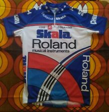 Vintage Colnago Roland Skala Citroën Cycling Jersey Size 3 Made In Italy