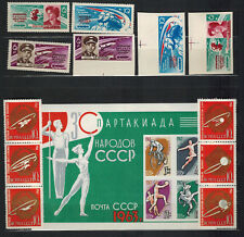 Year issue of mint/MNH stamps, VF, Soviet Union/Russia, 1963