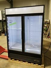 TRUE GDM-49F TWO GLASS DOOR COMMERCIAL FREEZER