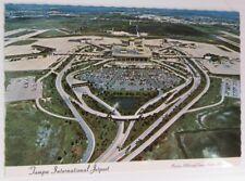 VINTAGE TAMPA INTERNATIONAL JETPORT FLORIDA POSTCARD - UNUSED      (INV15216)