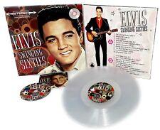 Elvis Presley - SWINGING SIXTIES - CLEAR VINYL ALBUM + CD ALBUM  - New & Sealed