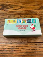 Christmas Memory Card Game 36 Cards Flip And Match Horizon