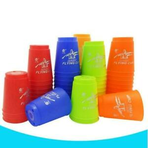 12 Stück Speed Cups Handhebel Sport Special Stacks Spielzeug Indoor-Spiele