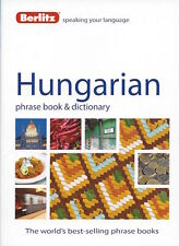 Berlitz Hungarian Phrase Book & Dictionary *IN STOCK IN MELBOURNE - NEW*