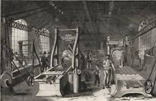 """The Grand Junction Railway engine-work, at Crewe. """"Fitting shop"""". Cheshire, 1849"""