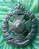 The Rifle Brigade (Prince Consort's Own) Regiment Cap Badge KC 48 mm ANTIQUE Org