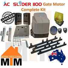 Automatic Electric Sliding Slide Gate Motor Opener 1100kg 240V Complete Kit