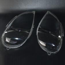 For Benz ML W163 FACELIFT Headlight Glass Head Lamp Lens Plastic Cover (PAIR)