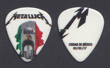 Metallica James Hetfield Mexico City 3/3/17 Guitar Pick - 2017 WorldWired Tour