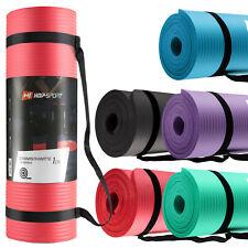 Hop-Sport Gymnastikmatte NBR  HS-N010GM 1cm Fitnessmatte Yogamatte + Tragetasche