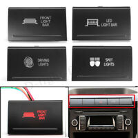 Dual LED Push Switch Driving Spot Reverse Light Lamp Bar For VW Amarok PSWA107R