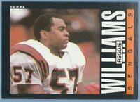 1985 Topps #220 Reggie Williams Cincinnati Bengals Combined Shipping