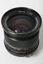 Vivitar 28mm f2.5 Wide Angle Lens - Nikon Non AI Mount manual focus