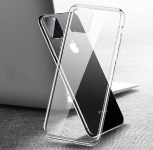 Clear Soft Silicone Case FITS iPhone 12 ,X XS XS Max XR 11 11 Pro 11 Pro Max ,
