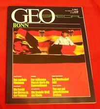 GEO Special 1985 Nr 6 , Bonn ,