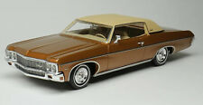 1:43 Goldvarg Collection 1970 Chevrolet Impala Custom Coupe caramel bronzeGC029A
