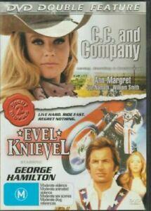Evel Knievel + CC and Company DVD George Hamilton Ann Margret - 2 DOUBLE MOVIE