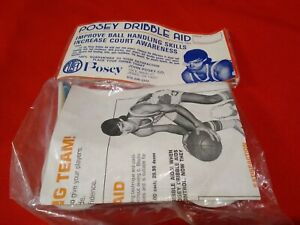 Vintage Posey Dribble Aid Dribbling Drills Included