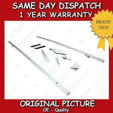 LAND ROVER DISCOVERY 3 + 4 LUXURY EXTENDED SILVER ROOF RAILS SET *BRAND NEW*