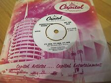 "CL 15135 UK 7"" 45RPM 1960 FRANK SINATRA ""RIVER, STAY WAY FROM MY DOOR""EX/VG DEMO"