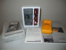 Fluke 73 Series Ii Multimeter With Protective Case Accessory
