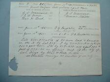 1867 Old Pioneer names,in town of San Diego,California/handwritten document/deed