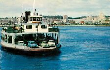 1950s Chrome Postcard; San Diego and Coronado Ferry Boat CA Underway Unposted