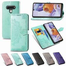 For LG Velvet 5G K61 Stylo 6 Case Mandala Wallet Flip Card Holder Phone Cover