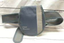 Sony Walkman CD Player Discman Case Fanny Pack Gray Reflective Stripe