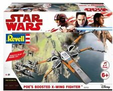 KIT REVELL STAR WARS THE LAST JEDI POE'S BOOSTED X-WING FIGHTER  ART 06763