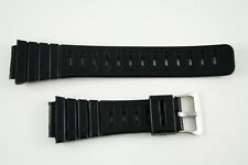 Rubber watch band 18mm black FITS Casio DW-240 DW-200 DW260 DW310 DW-210 DW-270