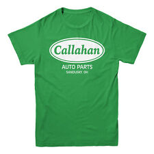 Callahan Auto Parts Tommy Boy Farley Spade Funny Movie Men's Kelly Green T-shirt