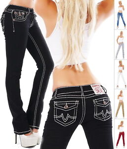Original Denim Women's Straight Leg Stretch Denim Jeans - S/M/L/XL/XXL