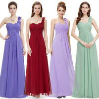 Long Chiffon Formal Evening Gown Party Prom Bridesmaid Dress 09768 Ever Pretty