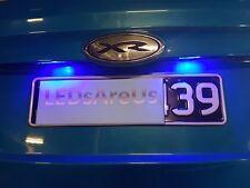 FGX FG BF BA AU EL EF Pair Bright Blue LED Number Plate Light Bulb Falcon Ford