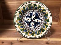 """Tabletops Unlimited """"Deruta"""" salad plate pre-owned"""