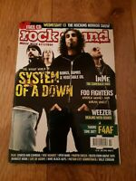 ROCK SOUND MAGAZINE ( 74 ) JULY 2005 FOO FIGHTERS SYSTEM OF A DOWN WEEZER
