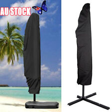 Outdoor Banana Umbrella Cover Garden Patio Cantilever Parasol Protective Deluxe