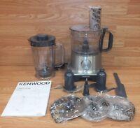 Kenwood (FPM250) MultiPro Compact 400W 5 Cup Food Processor Bundle **READ**