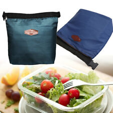 Small Thermal Cooler Insulated Lunch Zipper Bags Bento Picnic Tote Storage-Pouch