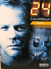 24 COUNTDOWN board game TV Jack Bauer 100 % Complete FREE SHIPPING