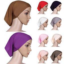 Islamic Muslim Women's Head Scarf Soft Underscarf Hijab Cover Headwrap Bonnet