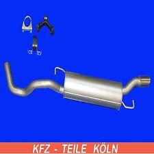 Endschalldämpfer  Audi - TT / TT Roadster - 1.8 T Auspuffanlage + Montagesatz