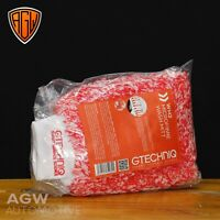 Gtechniq WM2 Microfibre Pile Wash Hand Mitt Detailing Car Cleaning - Red / White