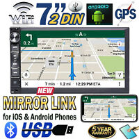 """Double Din 7.0"""" Car Stereo Radio for Apple CarPlay Android Carplay FM MP5 Player"""