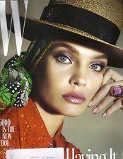 NATALIA VODIANOVA W Magazine 6/17 SOFIA COPPOLA ASHTON KUTCHER
