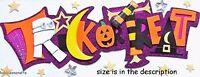EK Success jolee's Boutique 3-d ADHESIVOS - halloween momia estrellas Truco O