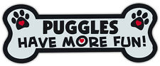 Dog Bone Shaped Magnets: Puggles Have More Fun! | Cars, Trucks, Mailboxes