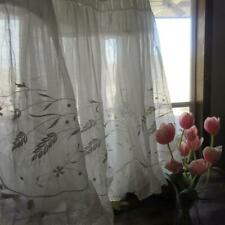 Luscious! Antique c1890 Hand Embroidered & Lace Bridal Petticoat Skirt