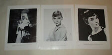 Audrey Hepburn Cary Grant Dean Martin Fred Astire Jerry Lewis cuttings clippings
